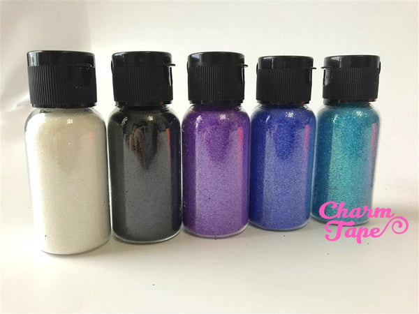 Holographic Color glitters, Bottle glitter dust UV resin, acrylic nail, nail polish Extra Fine Iridescent Embellishment Costume Craft