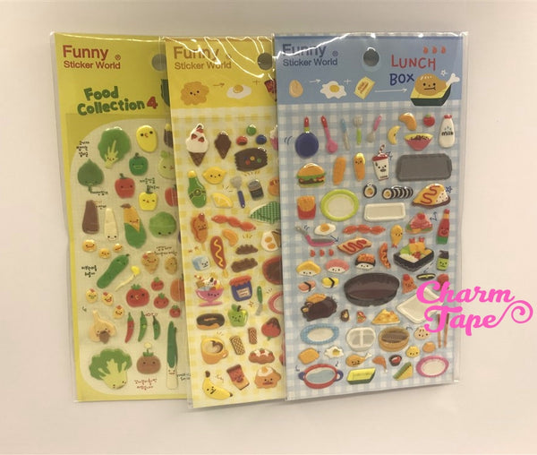 Japanese Bento Box Food Puffy Sticker by Funny
