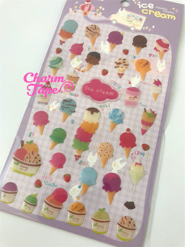 Ice-cream Gel Deco Sticker by Funny SS281