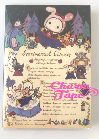 Sentimental Circus Big Memo Pad by San-x from Japan