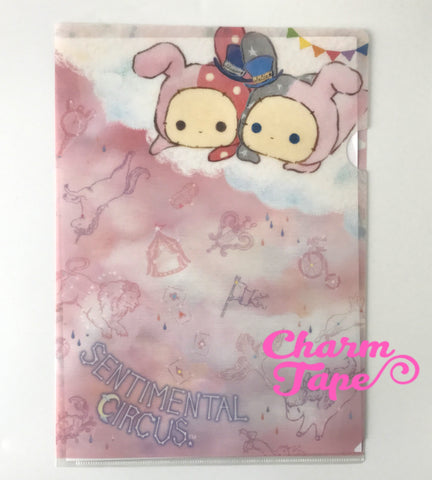 San-x Sentimental Circus A4 plastic file folder