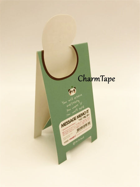 Animal Sticky Post-It Memo Buy 6 get 1 FREE - CharmTape - 8