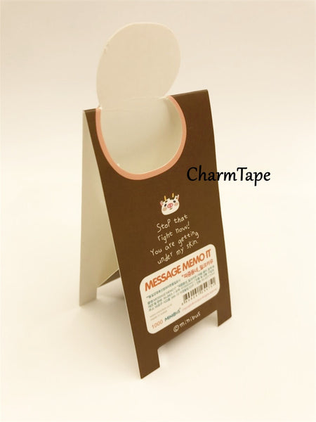 Animal Sticky Post-It Memo Buy 6 get 1 FREE - CharmTape - 10