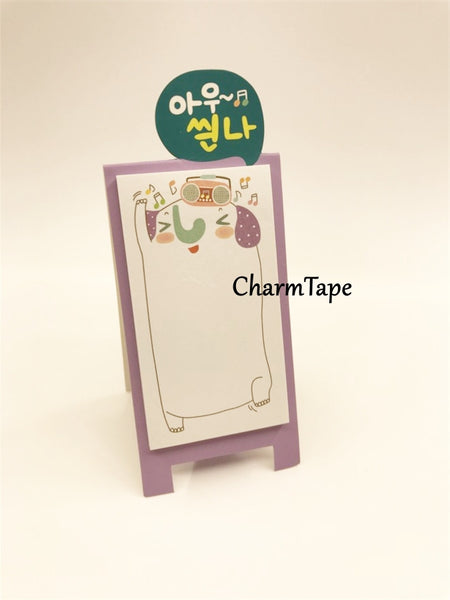 Animal Sticky Post-It Memo Buy 6 get 1 FREE - CharmTape - 11