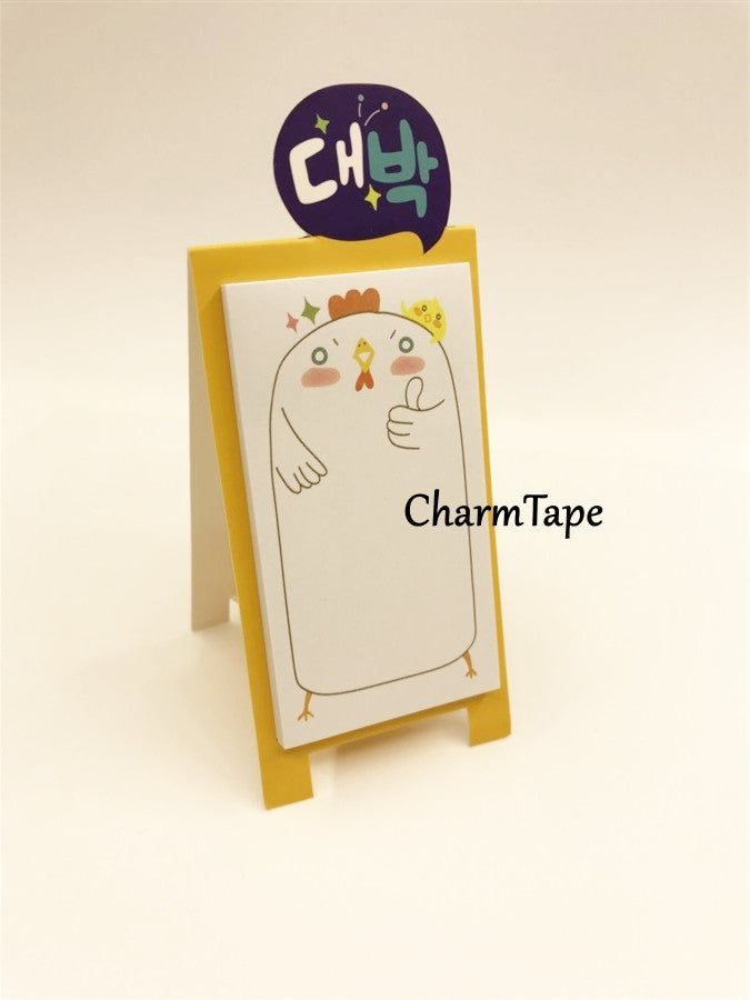 Animal Sticky Post-It Memo Buy 6 get 1 FREE - CharmTape - 16