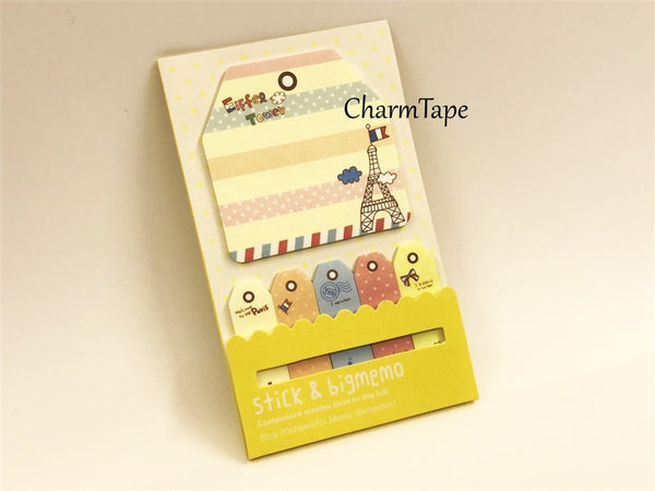 Paris Eiffel Tower Post-It Memo Note Pad 120 sheets aa740