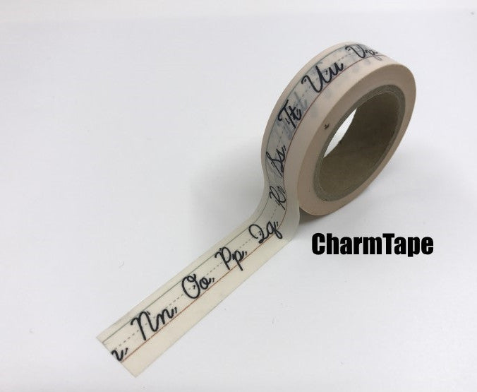 Copy of Aladdin's Lamp & Hope Washi tape 15mm x 10m WT427 - CharmTape - 1