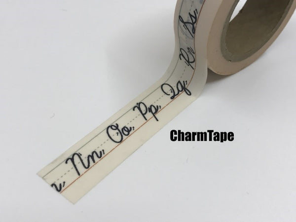 Copy of Aladdin's Lamp & Hope Washi tape 15mm x 10m WT427 - CharmTape - 2