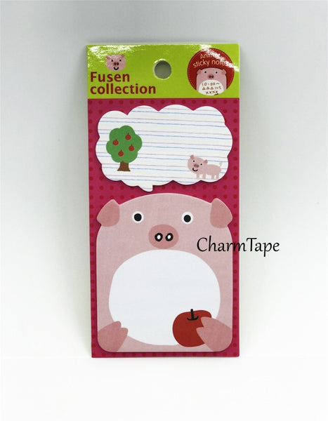 Sticky Memo Note Pad - Let's Sing or Eat - CharmTape - 5
