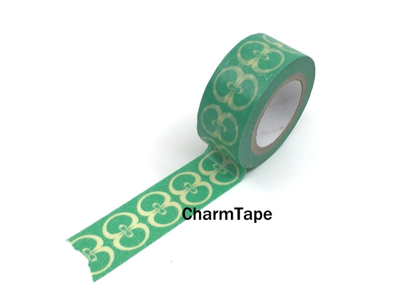 Apple Pattern Washi Tape 18mm x 10 metres WT592 - CharmTape - 1