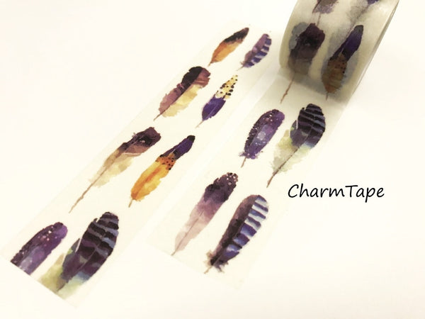 Tribal Feathers Big Washi Tape 30mm x 5 meters WT922