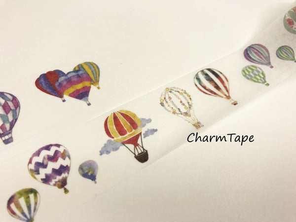 Hot air Balloon Big Washi Tape 30mm x 5 meters WT925