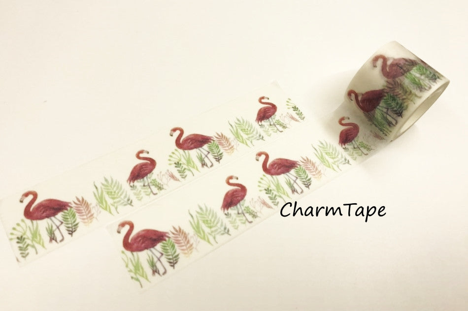 Flamingo Big Washi Tape(30mm x 5m) WT933