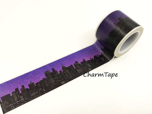 Nightscape Big Washi Tape(30mm x 5m) WT939
