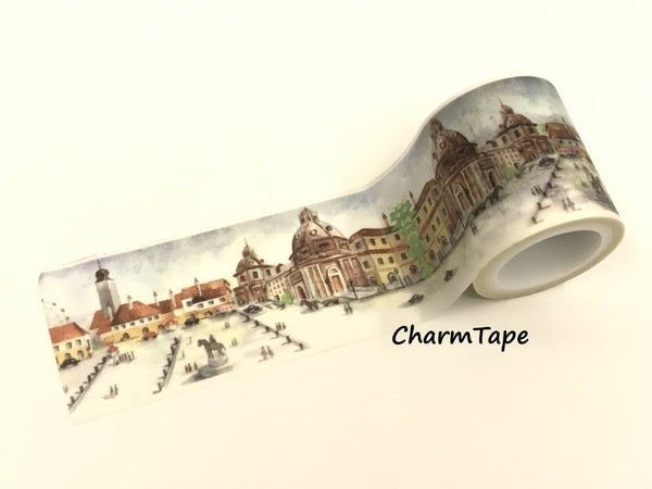 City Square Washi Tape Super-Wide 40mm x 5m WT962