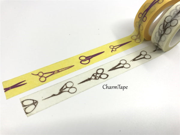 Scissors Washi Masking Tape 15mm x 10m WT379