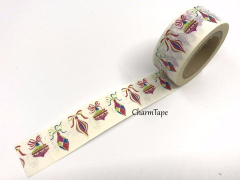 Christmas Ornament Washi Tape 20mm x 10 meters WT979 - CharmTape - 1