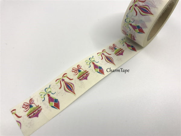 Christmas Ornament Washi Tape 20mm x 10 meters WT979 - CharmTape - 3