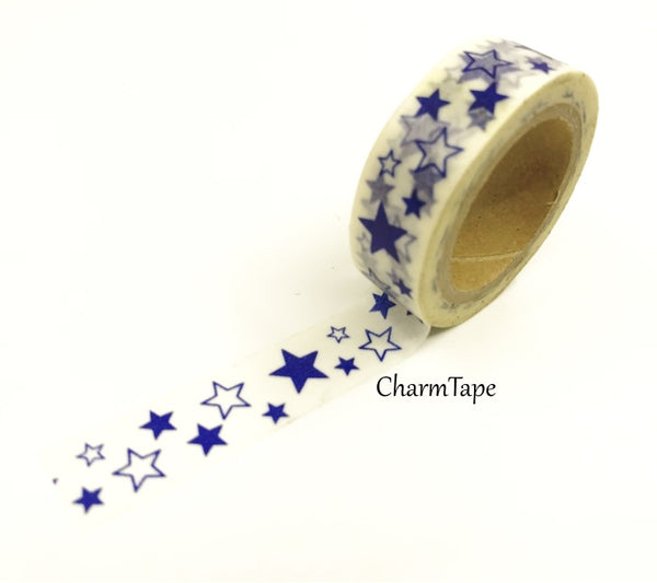 Stars Washi Tape 10m x 15mm WT35 - CharmTape - 9