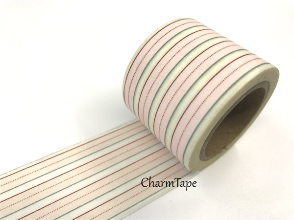 Stripes Big Washi Tape 30mm x 10m WT908 - CharmTape - 2