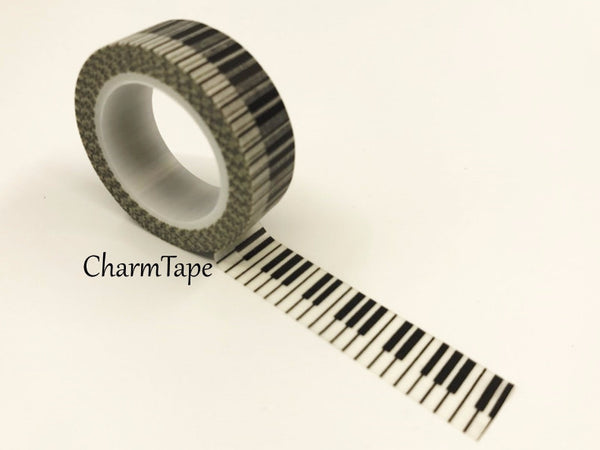 Piano Keys Washi tape 15mm x 11 yards WT414b