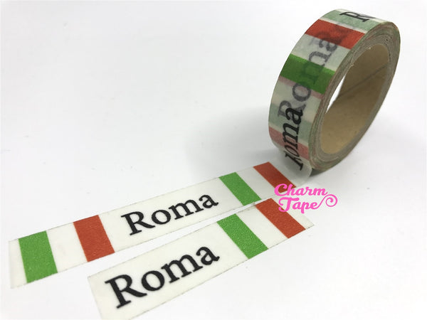 Made in France / Roma Washi Tape 15mm x 10m WT299