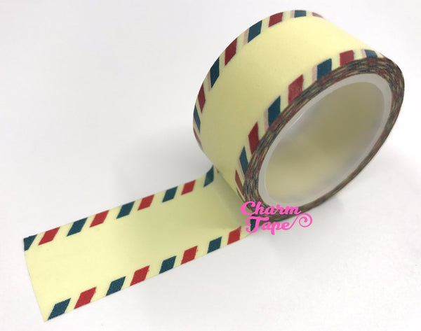 Postal airmail Washi Tape 20mm x 5meters WT1081