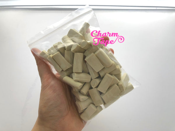 Chunky Squishy Foam Block Slime Chunk Pieces, Foam for Slime, 15 grams each pack