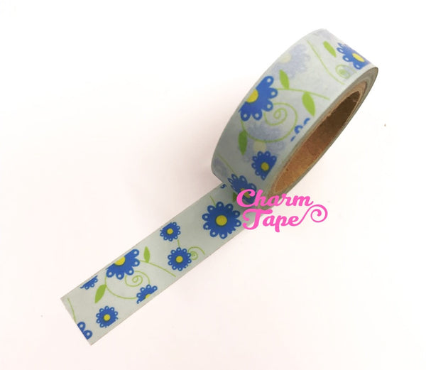 Daisy Flower Washi Tape 15mm x 10m WT202 - CharmTape - 6