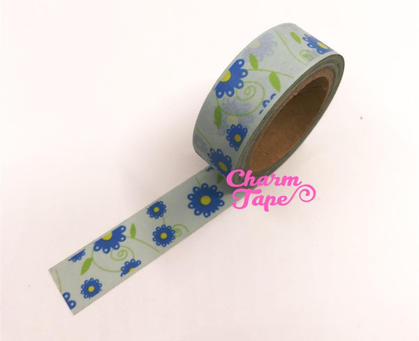 Daisy Flower Washi Tape 15mm x 10m WT202 - CharmTape - 7