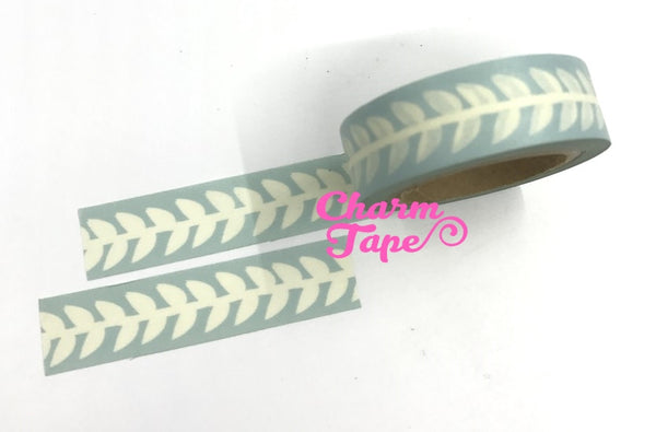 Pale Leaf - Japanese Washi Masking Tape 15mm WT968 - CharmTape - 5