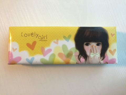 Lovely Girl - pencil pen case from Pinkfoot Korea - CharmTape - 1