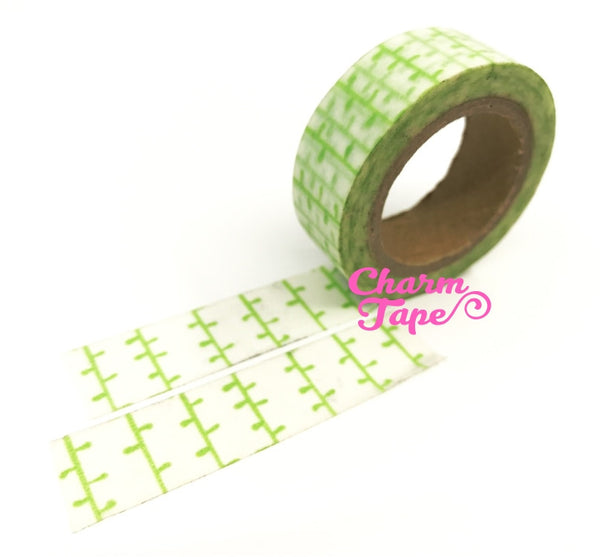 Bamboo Vines Washi Tape 15mm x 10 meters WT1075