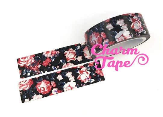 Shabby chic Floral Washi Tape Roll 15mm * 5m WT291 (2 Rolls) - CharmTape - 6