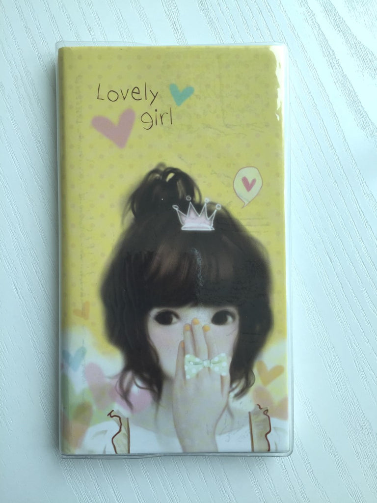 Pinkfoot Lovely Girl Daily Planner Scheduler from Korea - CharmTape - 1
