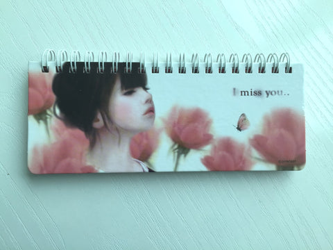 I Miss You Daily Planner Scheduler from Pinkfoot Korea - CharmTape - 1