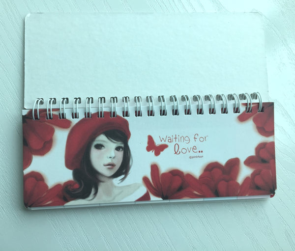I Miss You Daily Planner Scheduler from Pinkfoot Korea - CharmTape - 2