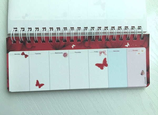 Pretty Girl Daily Planner Scheduler from Pinkfoot Korea - CharmTape - 3