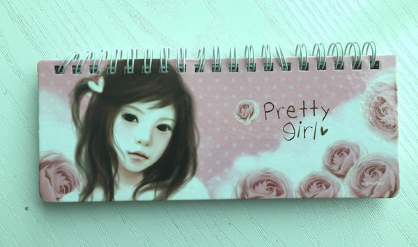 Pretty Girl Daily Planner Scheduler from Pinkfoot Korea - CharmTape - 1