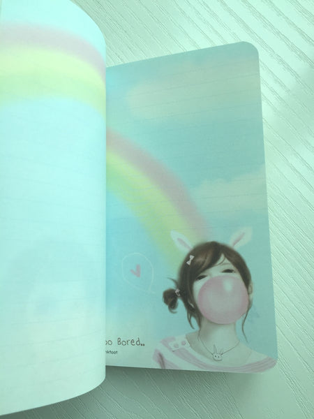 Pretty Girl Memo Note Book from Pinkfoot Korea - CharmTape - 3
