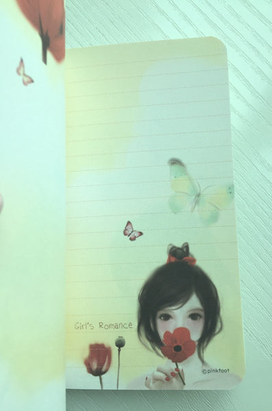 Pretty Girl Memo Note Book from Pinkfoot Korea - CharmTape - 4