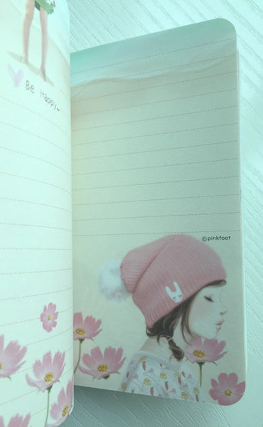 Pretty Girl Memo Note Book from Pinkfoot Korea - CharmTape - 5
