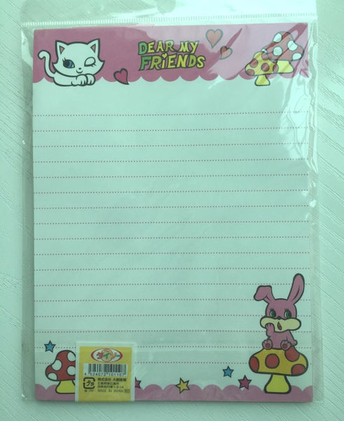 Writing paper and envelopes set - Dear My Friends from Japan - CharmTape - 3