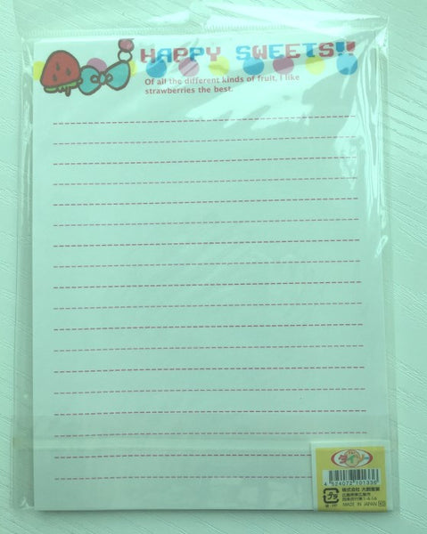 Writing paper and envelopes set - Ice-Cream from Japan - CharmTape - 3