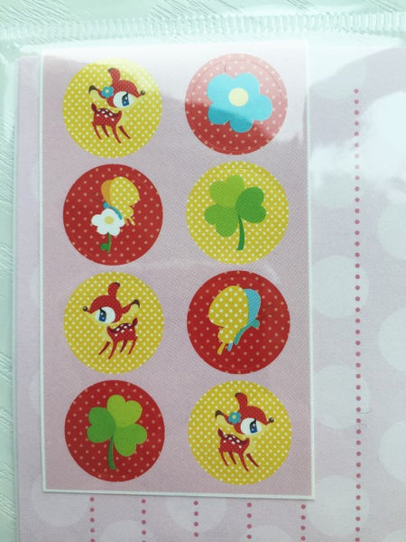 Writing paper and envelopes set - Cute Deer from Japan - CharmTape - 2