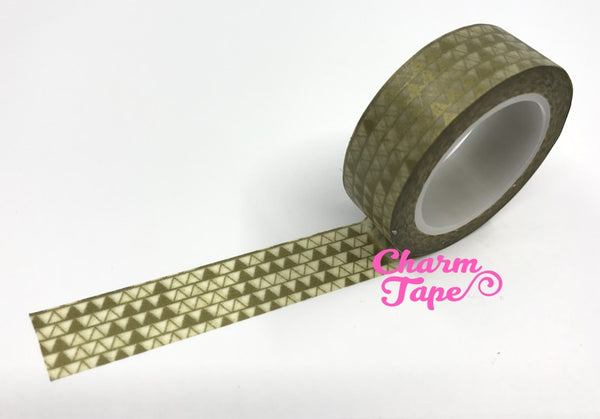 Triangles Washi Tape 15mm x 10m WT276 - CharmTape - 2