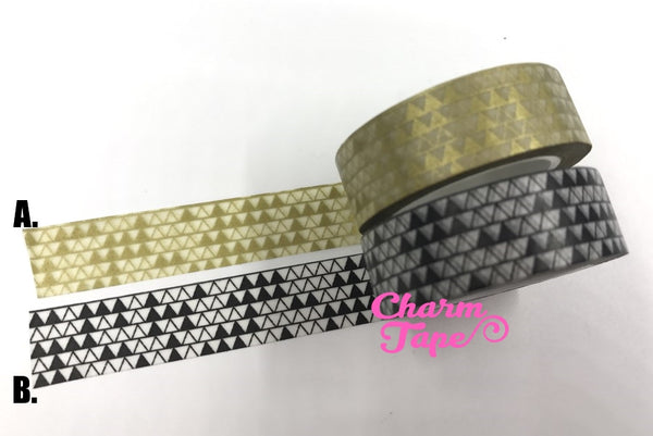 Triangles Washi Tape 15mm x 10m WT276 - CharmTape - 5