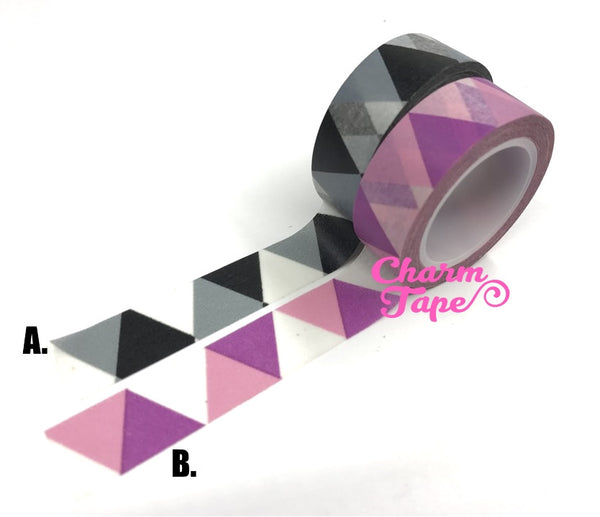 Geometric Washi Tape WT280 - CharmTape - 2