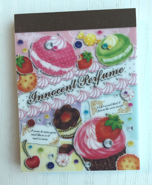 Innocent Perfume mini Memo Pad by Mindwave from Japan - CharmTape - 1
