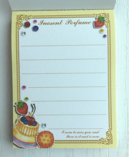 Innocent Perfume mini Memo Pad by Mindwave from Japan - CharmTape - 2